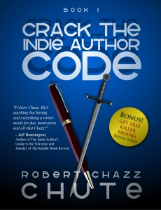 If you don't go for new year's resolutions, you can still get tips and inspiration for your writing life with Crack the Indie Author Code.
