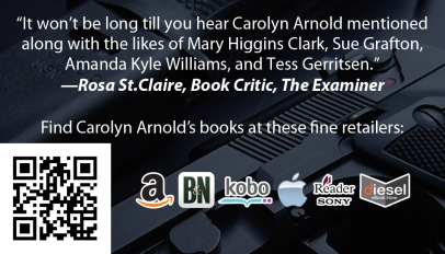 Carolyn Arnold Business Card Back 2013
